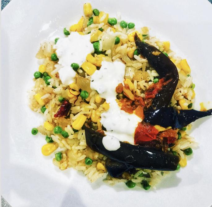 Afghan dish with a twist